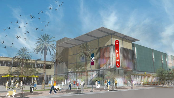 Harkins Theaters and Red's Drafthouse Cinema are part of a proposed theater project in Downtown Chandler