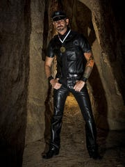 Christopher Durbin's duties and responsibilities as Mr. Palm Springs Leather include promoting charities for animals in need.