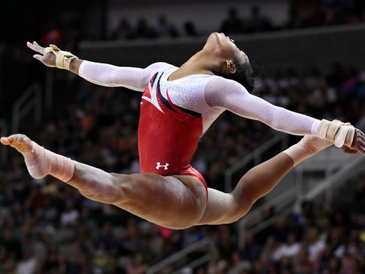 gabby douglas floor routine - photo #21