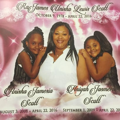 A photo of the cover of the  program from the funeral