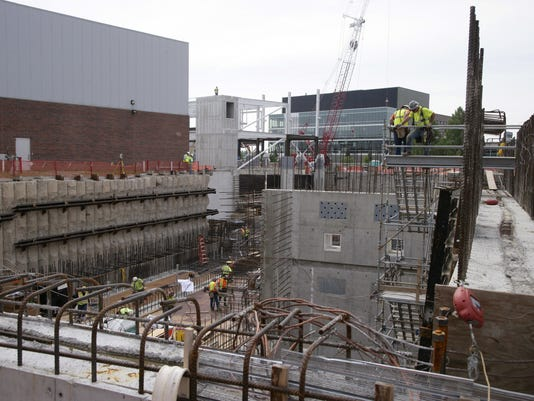 MSU Facility for Rare Isotope Beams construction
