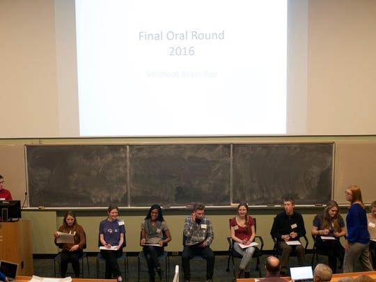 2016 Final Round VT Brain Bee