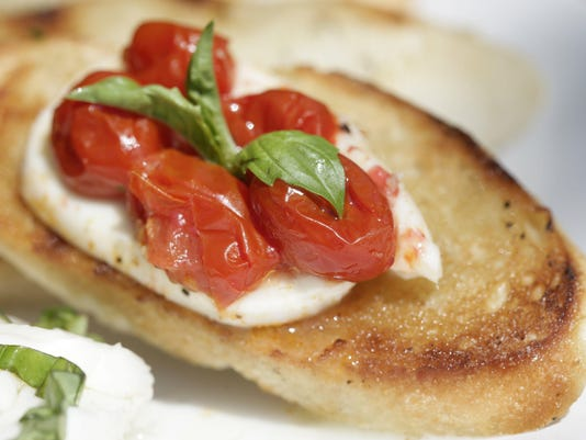 Test Kitchen recipe: Caprese salad meets grilled bread in this easy summer appetizer