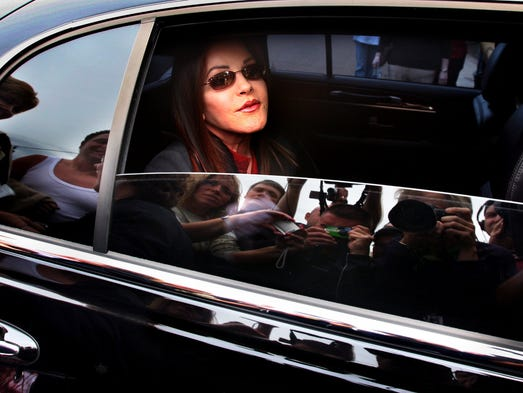 May 6, 2006 - Priscilla  and Lisa Marie Presley welcomed