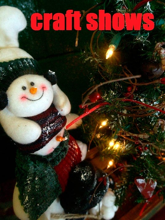 Holiday craft shows and bazaars for Craft shows in ohio