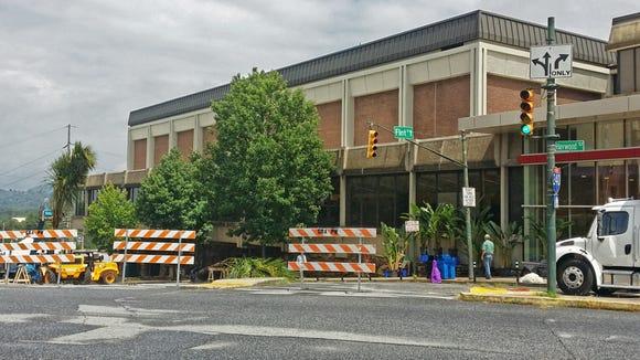 Filming preparation has begun at the U.S. Cellular Center