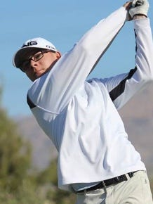 Bishop Manogue sophomore Ollie Osbourne fired a 70 on Wednesday at ArrowCreek to take medalist honors in the Galena boys golf tournament,