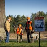 Hunters participate in the Hunting Access Program