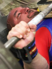 Brick's Michael Ciupinski, a world-class powerlifter,