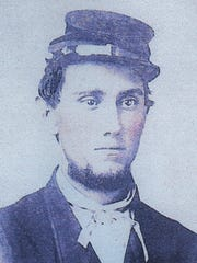 John Finley Jr. belonged to the 69th Indiana that trained in Richmond. In May 1863, near Vicksburg, Miss., he was shot through the right side of the chest. The minnie-ball penetrated a lung.