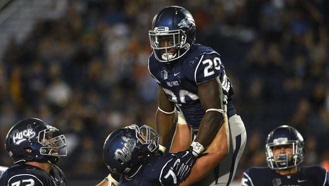 James Butler and the Wolf Pack host Fresno State on Saturday.