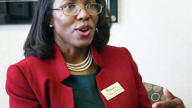 Topeka USD 501 superintendent Tiffany Anderson.