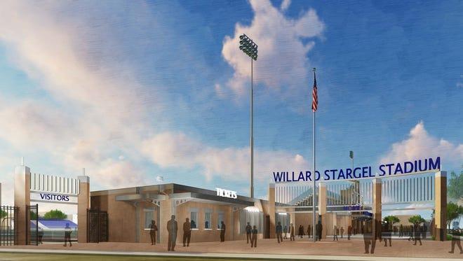 New Stargel Stadium, gate