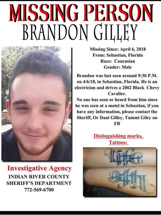 Brandon Gilley flier