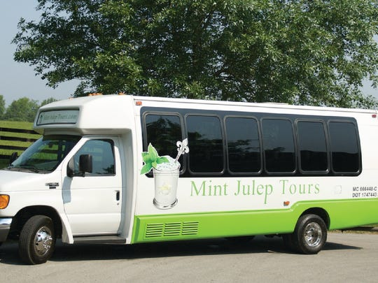 Mint Julep Tours bus
