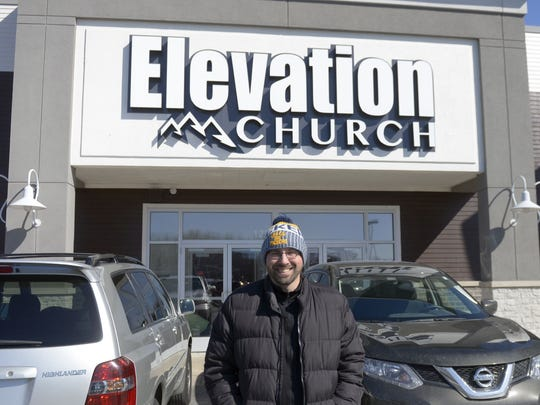 Ryan Kibbe is pastor of Elevation Church, which moved to Shoppes at the Village in Ashwaubenon. It is in the building formerly occupied by Cook's Corner.