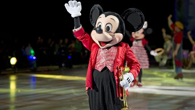 """""""Disney on Ice"""" presented its """"Dare to Dream"""" show in October at the U.S. Bank Arena in Cincinnati."""