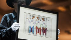 Russell Live Auction boosts museum budget, artists' careers