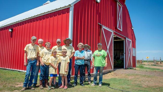 Gee Family Farm is multi-generational farm, run by Samuel Gee, Bobby Sidman, Calvin, Caleb, Sawyer, Michele, Timothy Gee with Carolyn Johnston, Warren Gee and Adrianne Brockett.