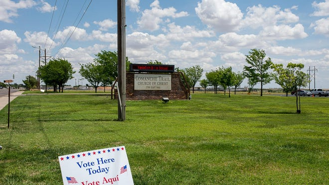 The Comanche Trail Church of Christ is one of the Election Day locations in Randall County where voters can participate in the primary runoff election.