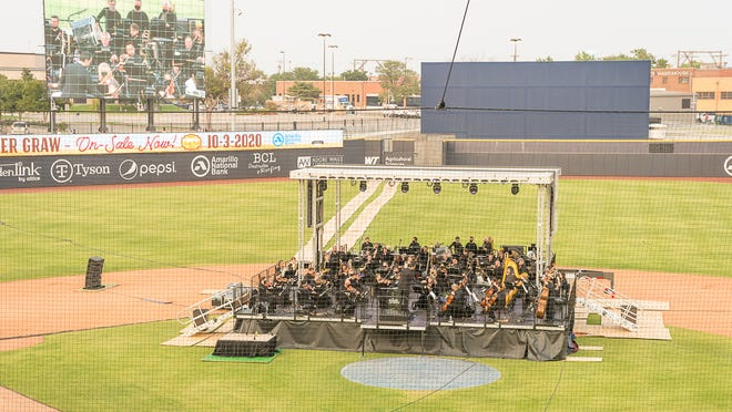 The Amarillo Symphony previously performed at Hodgetown earlier this year. Officials recently announced that this year's fifth annual Happy Holiday Pops concert moved to a digital format due to the ongoing COVID-19 pandemic.