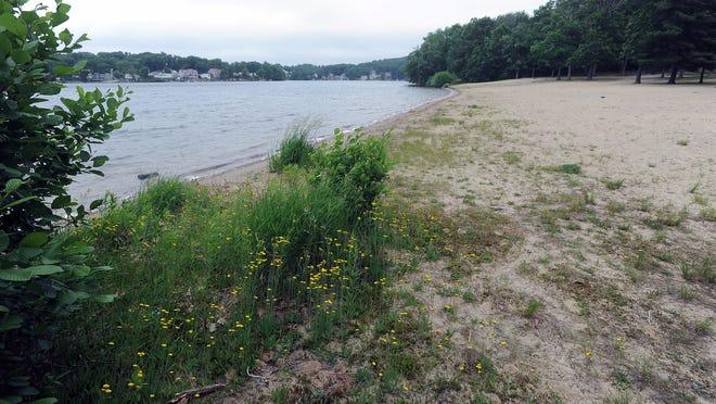 Centennial Beach is closed for the summer season.