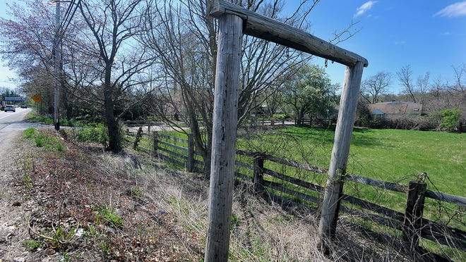 The former McGee Farm property at 339 Boston Post Road East in Marlborough. A developer is seeking a special permit to build 140 apartments on the land.
