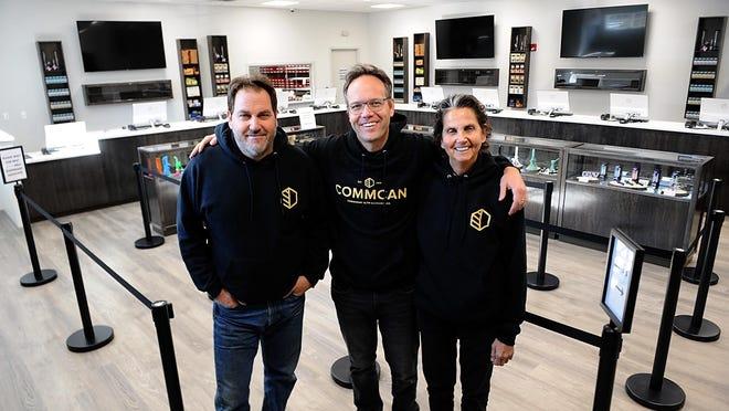 Siblings Jon, Marc and Ellen Rosenfeld co-own Commonwealth Cannabis Company.