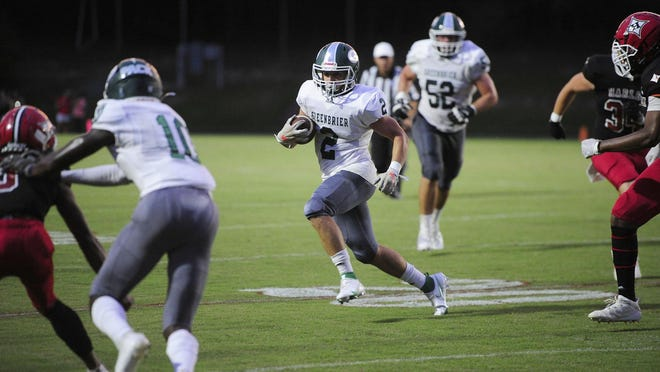 Greenbrier's passing game is making them one of the top contenders in the county.