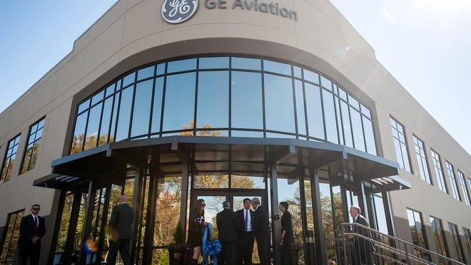 The GE Aviation plant 502 Sweeten Creek Industrial Park Road in Asheville.