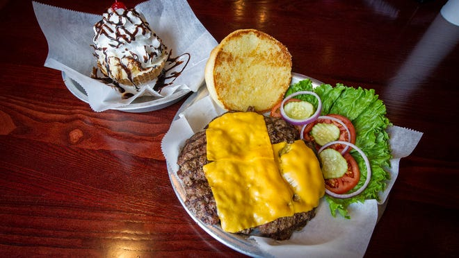 The Big Ugly sits next to the Brownie Dessert. Bub's Burgers & Ice Cream has opened a new location in Zionsville, bringing their chain to three locations. The others are in Carmel and Bloomington.