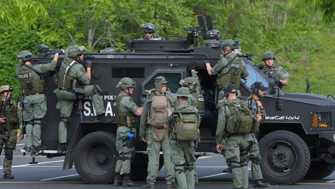 Nashville police avoided the military surplus wait and used grant money to buy an armored Bearcat in 2009.