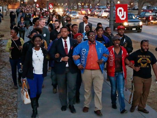 AP OKLAHOMA FRATERNITY RACIST VIDEO A USA OK
