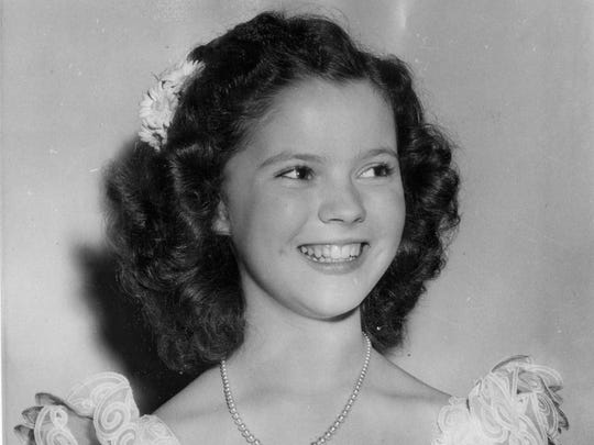 This 1941 file photo shows child actress Shirley Temple.