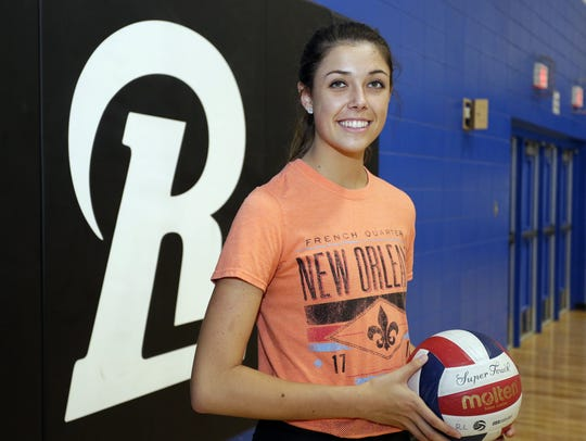 Random Lake's Kristen Paulus poses in the gym at the