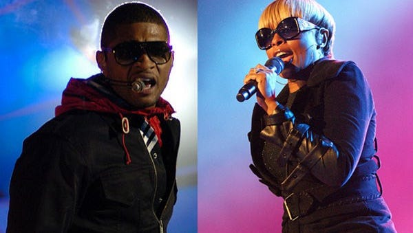 Usher and Mary J Blige will headline this year's Cincinnati Music Festival at Paul Brown Stadium.