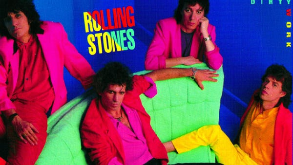"""Dirty Work"" by the Rolling Stones"