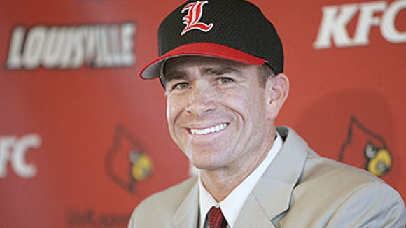 Louisville coach Dan McDonnell credited Ole Miss coach Mike Bianco for his coaching success during Friday's press conference.