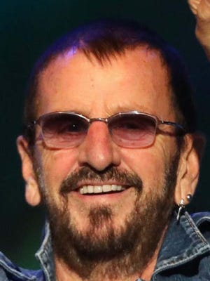 Rock drummer and former Beatle Ringo Starr: 80 today