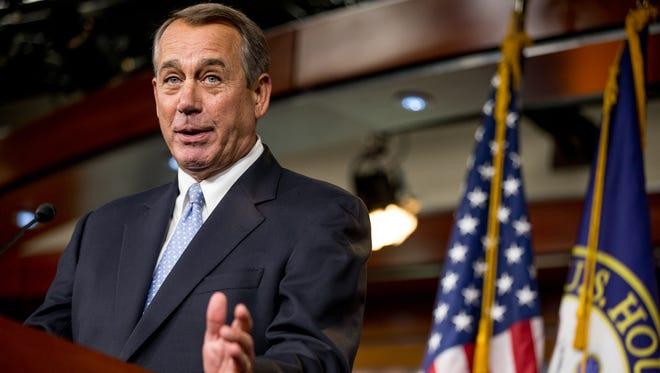 House Speaker John Boehner, R-Ohio, negotiated a bipartisan agreement with and Minority Leader Nancy Pelosi, D-Calif.