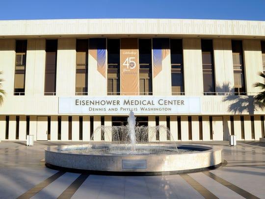 Brigette Crenshaw, an infection preventionist at Eisenhower