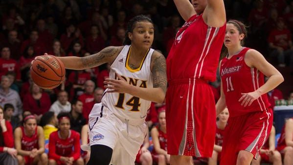 Iona's Damika Martinez is the nation's leading returning scorer at 24.9 points per game.