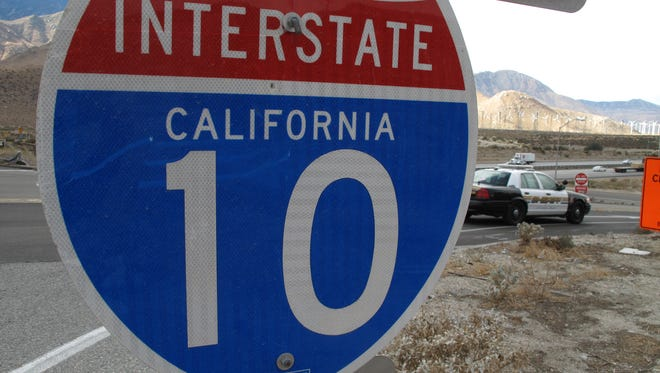 Interstate 10 eastbound lanes have been shut down after a body was struck on the freeway.
