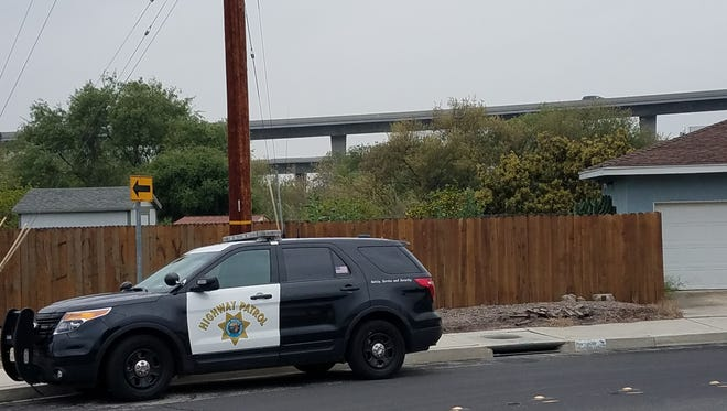 The California Highway Patrol responded to Moorpark on a report of a person jumping from a bridge.