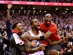 Kawhi Leonard's bouncing buzzer-beater in Raptors' Game 7 win had everyone in absolute awe