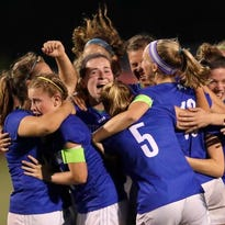 After long wait, Notre Dame girls soccer wins first state title