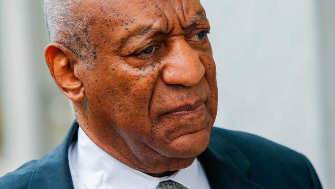 Bill Cosby arrived on the sixth day of jury deliberations of his sexual assault trial at the Montgomery County Courthouse on June 17, 2017 in Norristown, Pa.