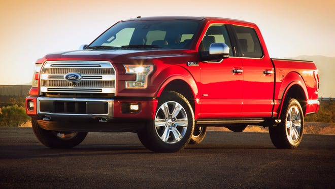 Ford's F-Series pickup is the nation's sales leader.