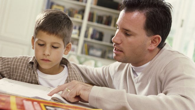 Dads have a tendency to just do it, fix it or give the answer and move on. Instead, help your student help himself. Helping your child make a discovery on his or her own takes time and patience. But when that kind of learning happens, it sticks.