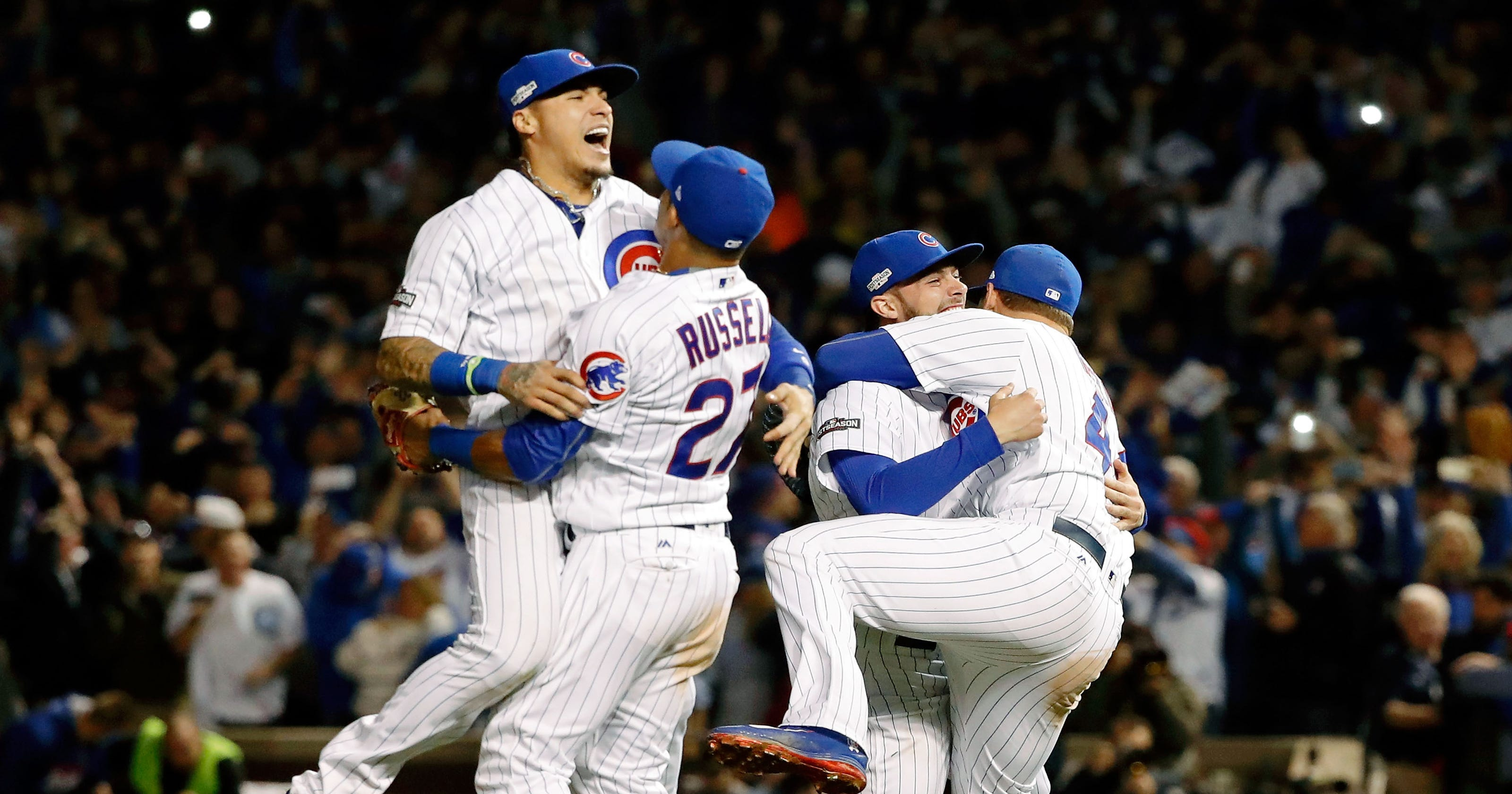 ccab1699b Cubs  young core set for first of what could be several World Series